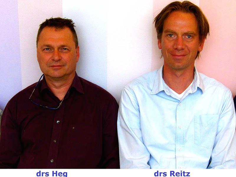 Ruud Heg en Gerton Reitz